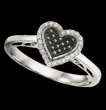 Silver Diamond Ring-0