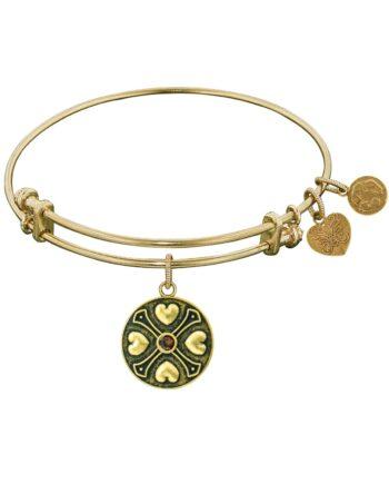 Angelica Birthstone November Yellow Topaz Bracelet-0