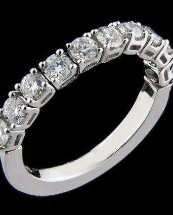 Diamond Wedding Band Contours FlexiFit 1.0ctw 14K White Gold-0