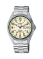Pulsar Men's Stainless Steel Watch with Stretch Band Day and Date Display-0