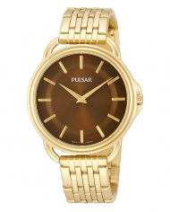 Pulsar Women's Gold Tone Watch-0