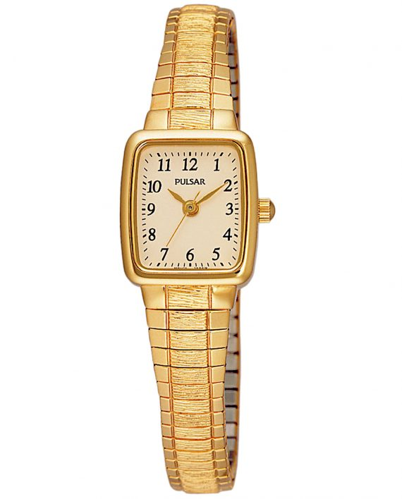 Pulsar Women's Gold Tone Petite Watch-0