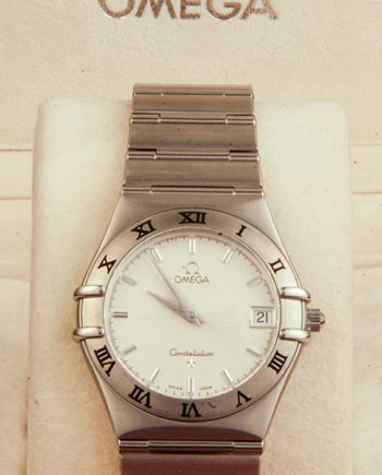 Omega Constellation G in Silver-0