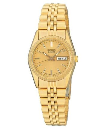 "Ladies Seiko ""Rolex Style"" Wrist Watch with Day/Date Adjustment"